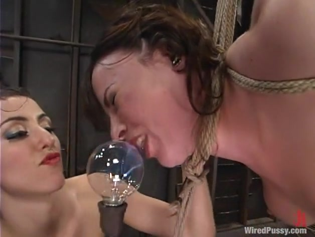 Princess Donna Dolore and Dana DeArmond in Wiredpussy Video