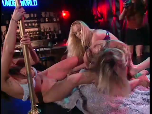 Sexiest Goddamn Stripper Catfight Ever