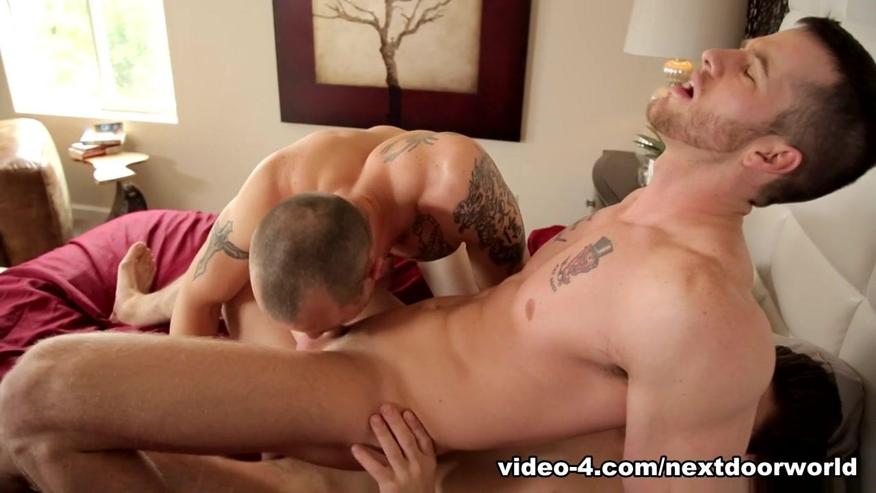 Mark Long & Quentin Gainz & Michael Del Ray in Cocky Straight Boys XXX Video - NextdoorWorld
