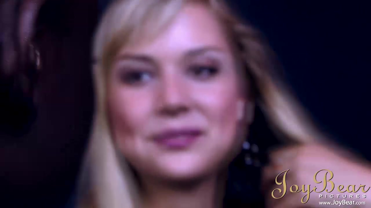 Stunning Blonde Alexa likes BBC