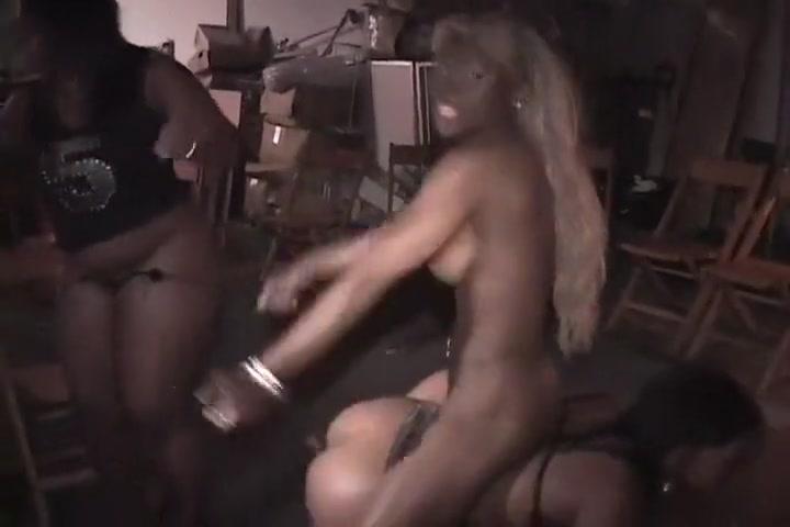Amber Swallows Enjoys Black Lesbian Sex