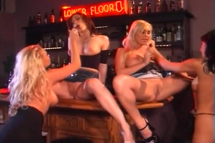 Four Gorgeous Girls Have Lesbian Fun