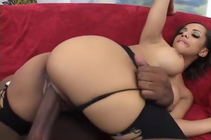 Big Tit Chocolate Honey Slammed & Facial