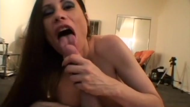 Outstanding Cocksucker Takes Titty Load