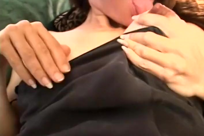 Horny Milf with Big Pussy Lips and Long Nipples Gets Herself Off