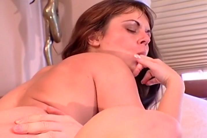 Sexy BBW Swallows Two Creamy Mouthfuls