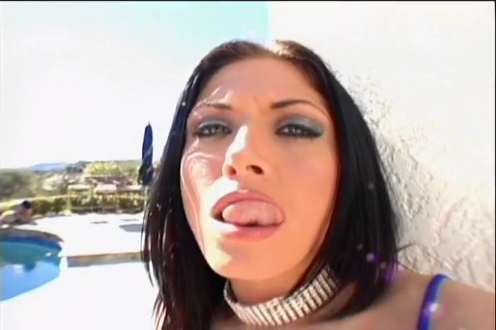 Hot Brunette Gets Double Penetrated
