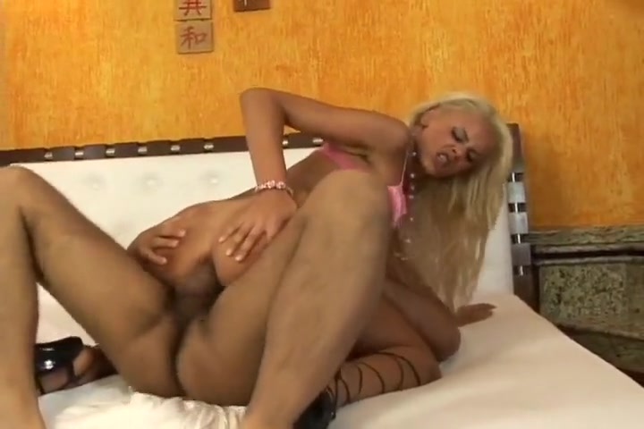 Blonde Latina Takes It In The Ass