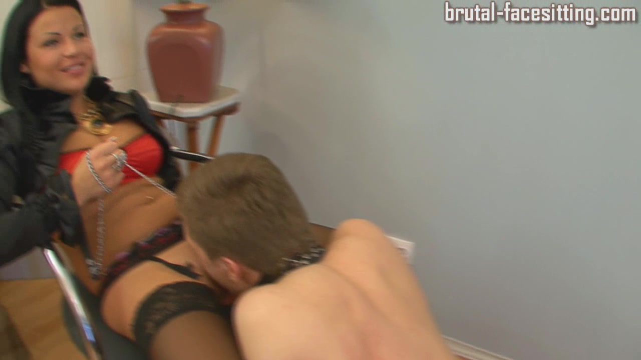 Brutal-FaceSitting Video: Sofiya & Olesya