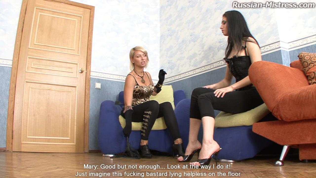 Рассиан мисстрейс порно видео