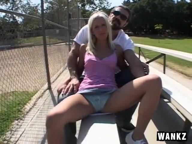 Very Slim Blond Rides Huge Dick So Well