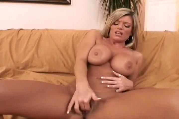 Sexy Nina Masturbates With Two Fingers
