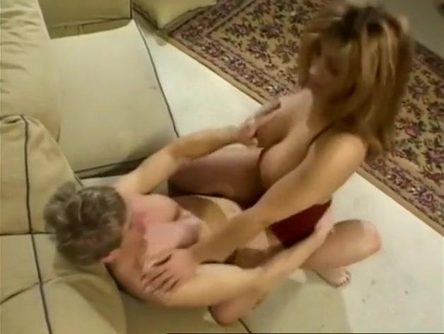 Latina Milf with Giant Fake Tits
