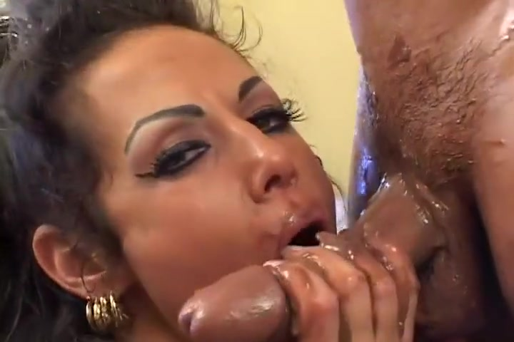 Chocolate Covered MILF Fucked & Facialed