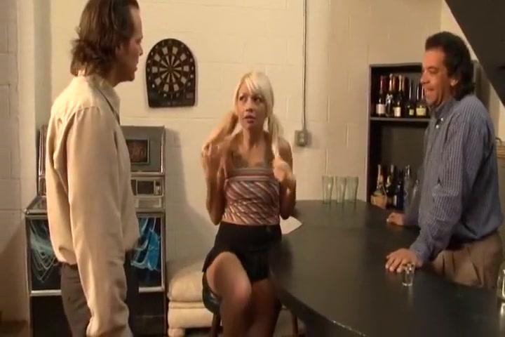 Horny White Slut Coco Velvett Bangs In Basement