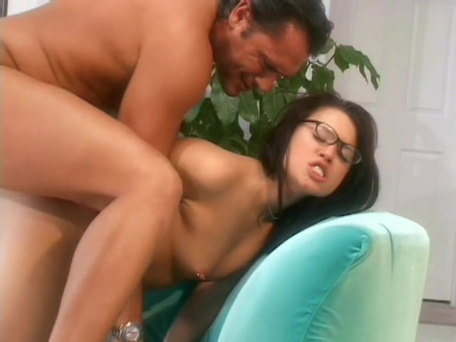 Brunette Latina In Glasses Gets Fucked