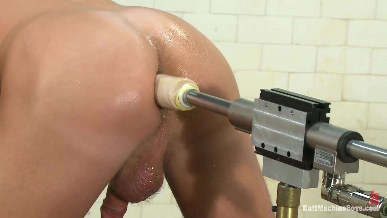ButtMachineBoys: Jake in the Shower