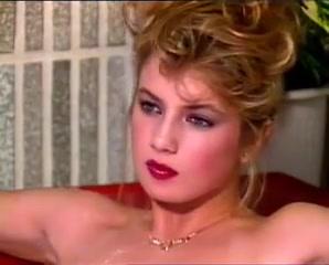80s blonde maturbates and fucked