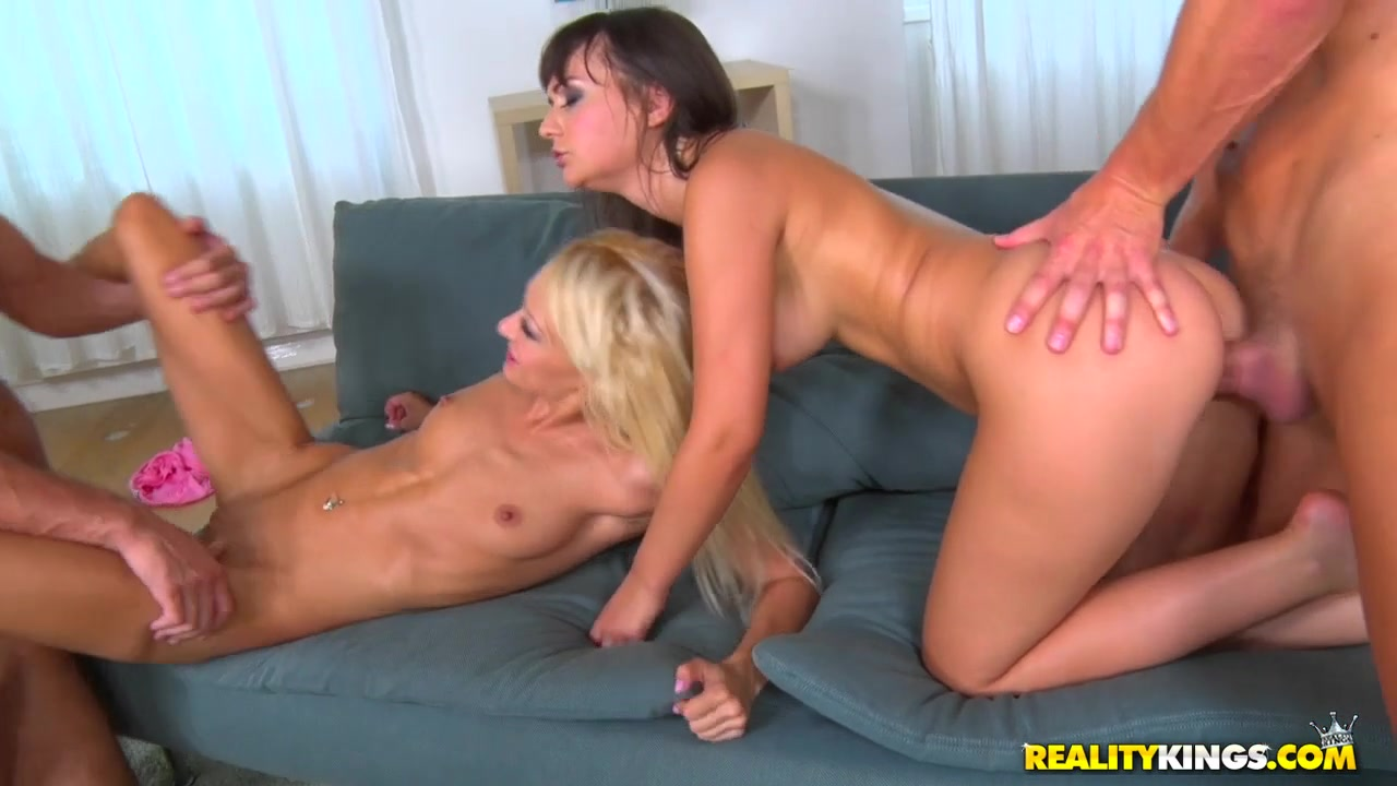 Lola Shine & Anina Silk & Jj2 &   in Cum Together - EuroSexParties