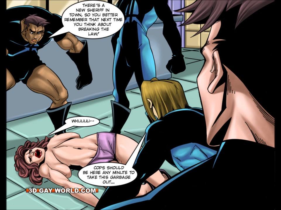 Flamboyant Four Gay Superhero Animated Comics