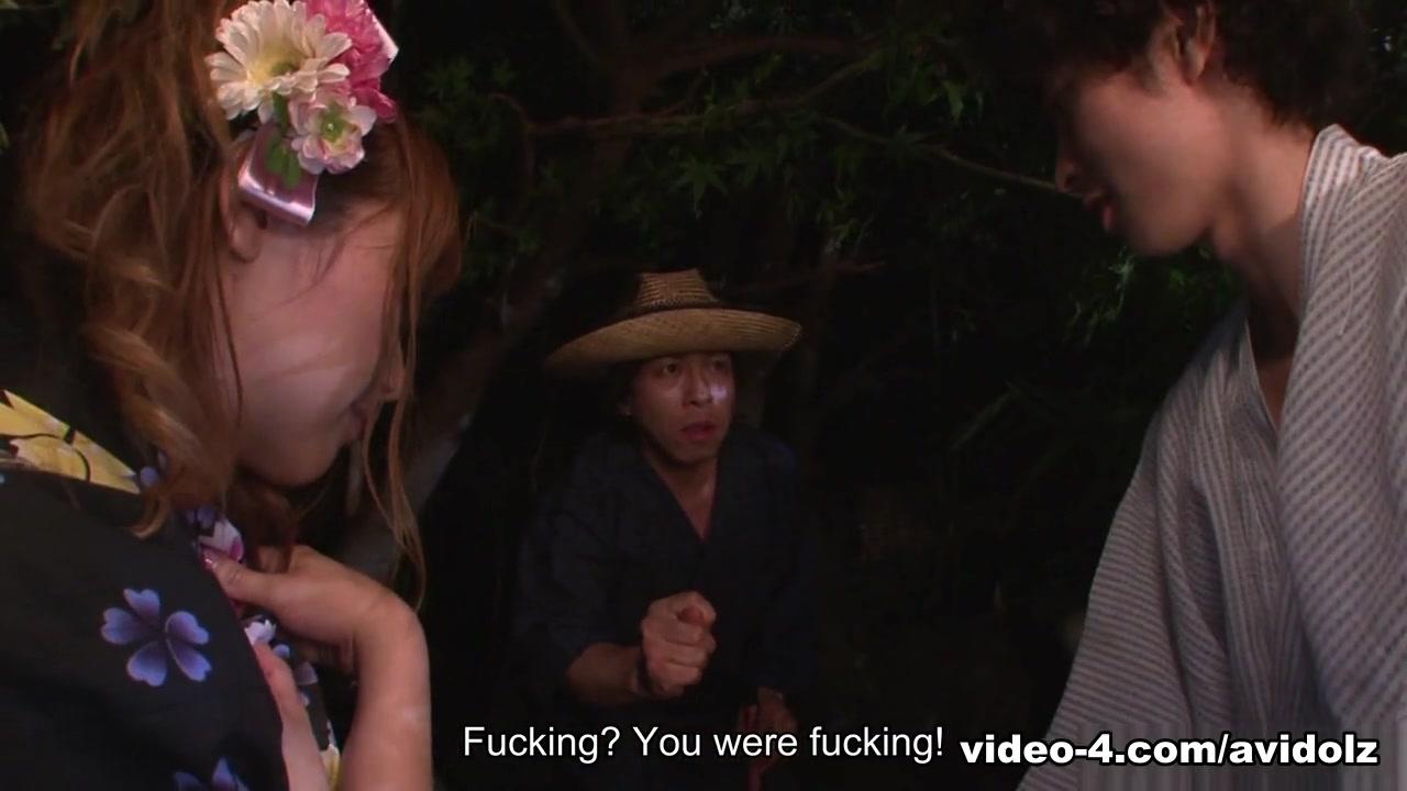 Eri Hoshikawa in Eri Hoshikawa sucks cock during a summer festival - AviDolz