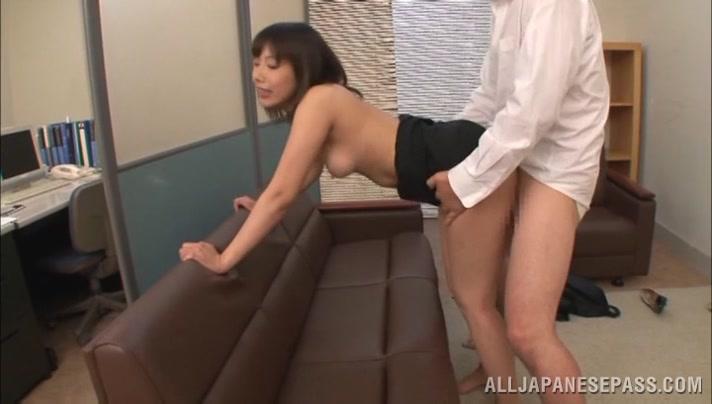 Japanese AV Model horny milf is a sexy teacher in group action