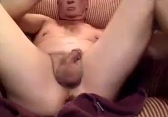 Grandpa dildo   wanking cums