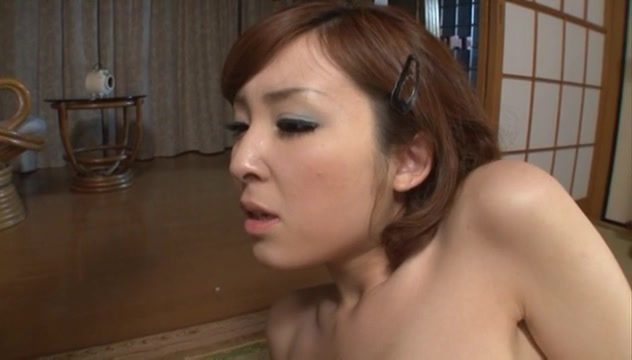 Busty Asian milf Hikaru Shiina office lady gives blowjob