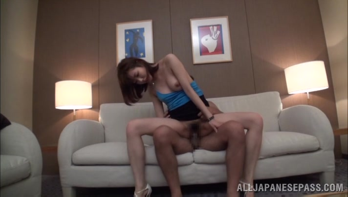 Hot and horny Asian milf is into position 69
