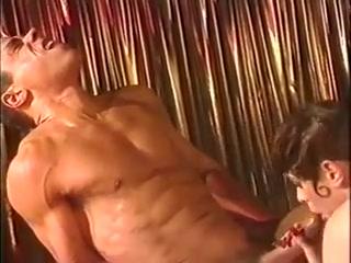 Chloe nicole surrender sexy dancer on-stage threesome