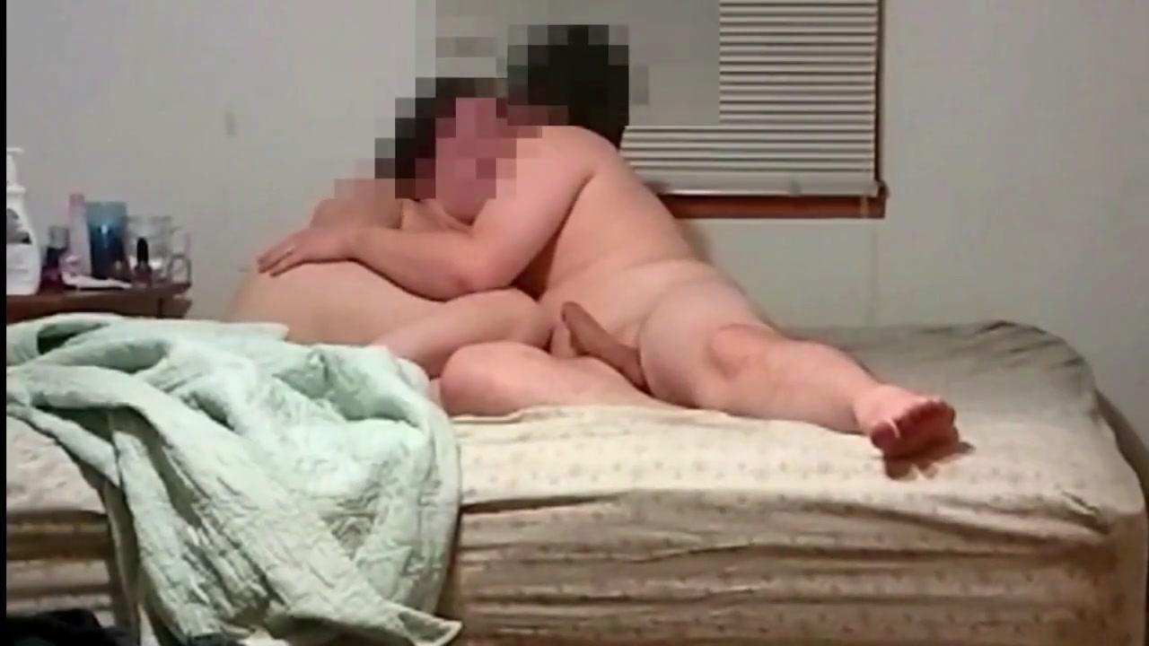 Cumming inside of my bbw slut wife pussy