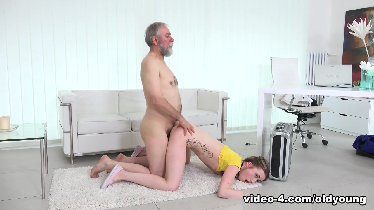 Vlada in Vlada gets her first taste of old man cock - OldGoesYoung