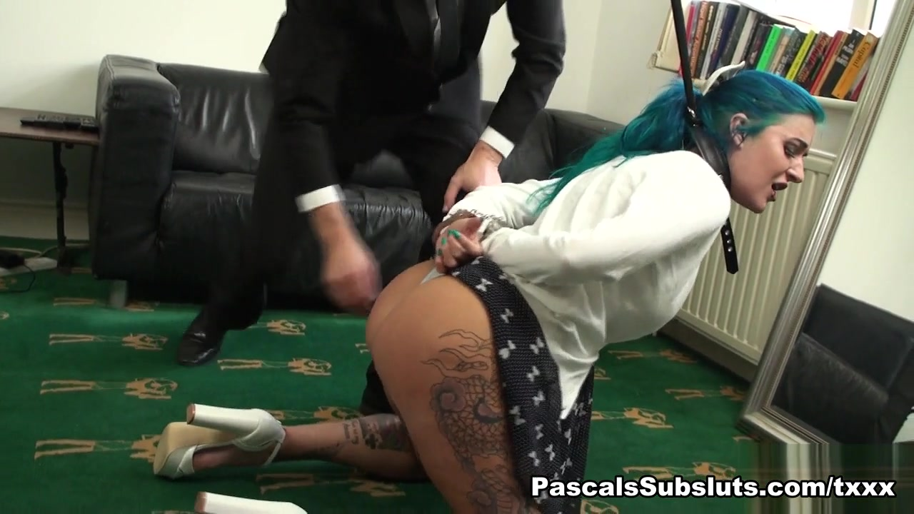 Alexxa in Double Dick Punishment For Office Angel - PascalsSubSluts