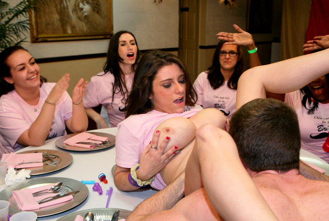 Dick-Sucking Orgy For The Bride To Be