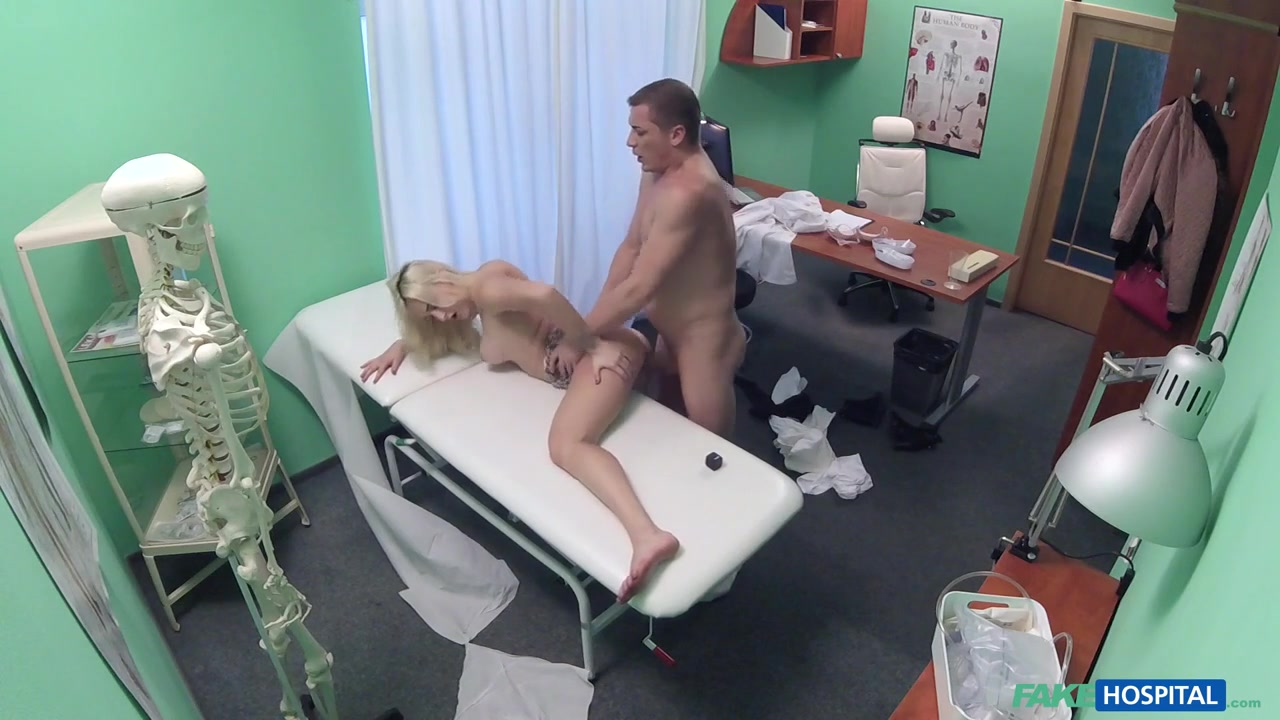 Blonde Patient Fucked by Her Doctor - FakeHospital