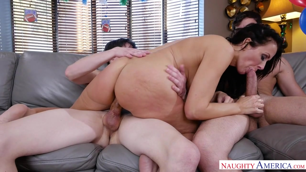 Reagan Foxx & Alex D. & Logan Long in MyFriendsHotMom