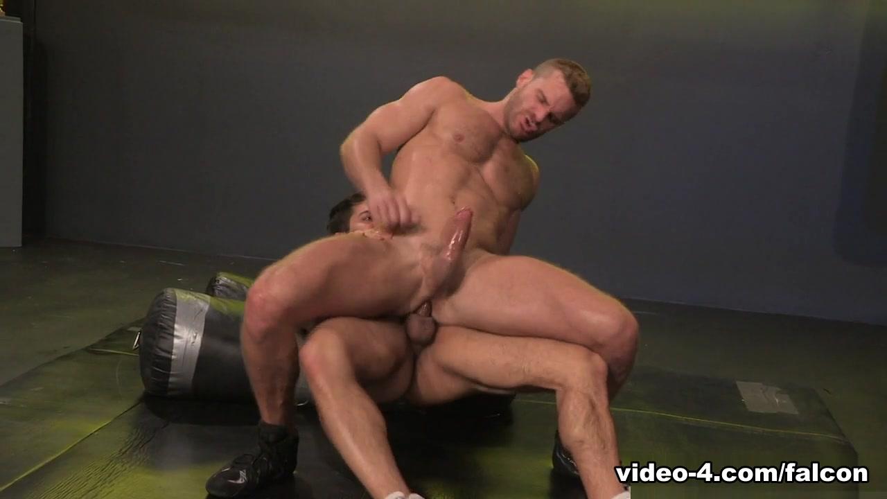 Cock Fight! XXX Video: Landon Conrad & Adam Ramzi - FalconStudios