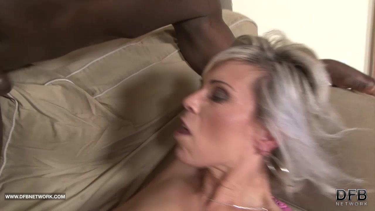 Black and White - BBC Cum ###ing Slut Likes big black cock