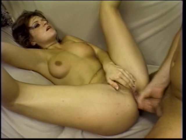 Lustful honey bends over to suck on her mate's hard 10-Pounder then acquires drilled