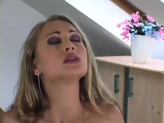 Hawt 18 Year Old Blonde Welcomes Some Weenie In Her Holes