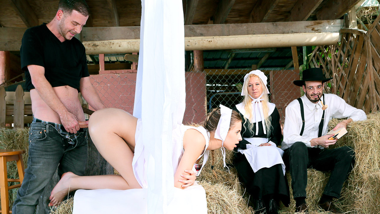 Amish análny sex