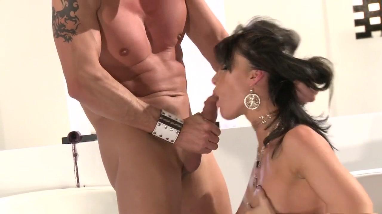 Exotic pornstar Jennifer Dark in amazing brunette, facial sex scene