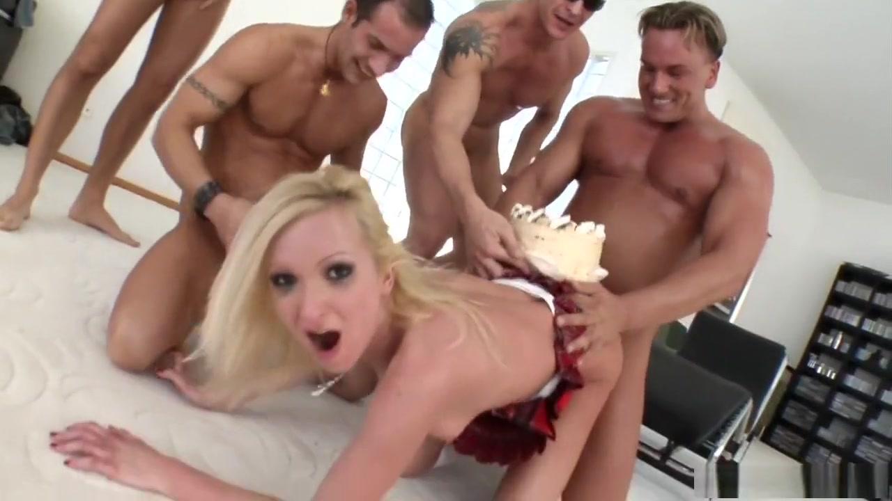 Exotic pornstar Angela Winter in best blonde, anal adult scene