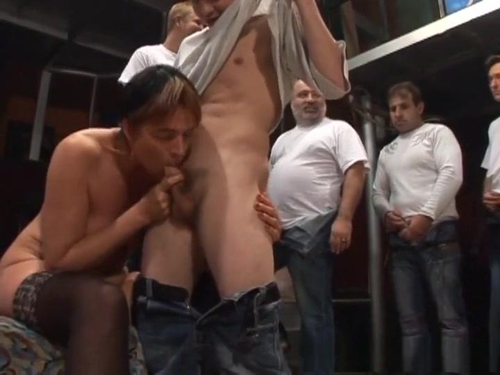 Exotic pornstar in fabulous gangbang, mature sex clip