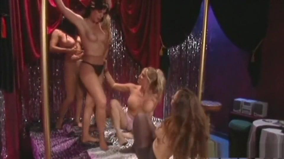 Fabulous pornstars Summer Cummings, Kayla Paige and Carolyn Monroe in horny big tits, fishnet porn movie