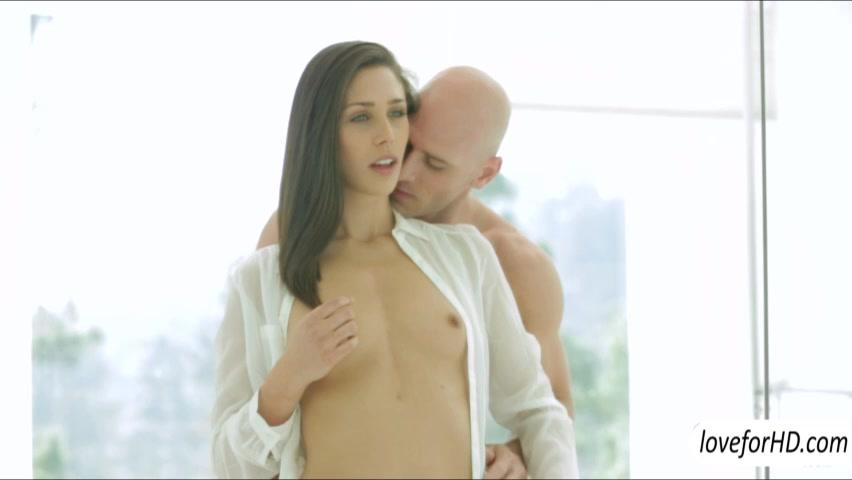 Tight babe Anastasia Morna romantic sex
