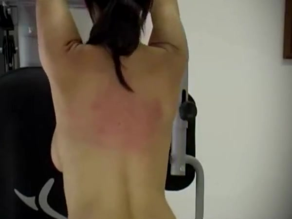 Anita queen - whipping at the gym