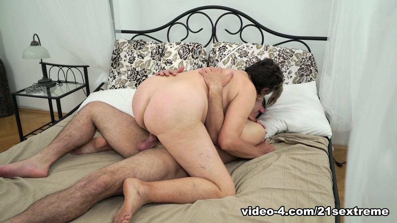 Kata & Rob in Horny Hairy Granny - 21Sextreme