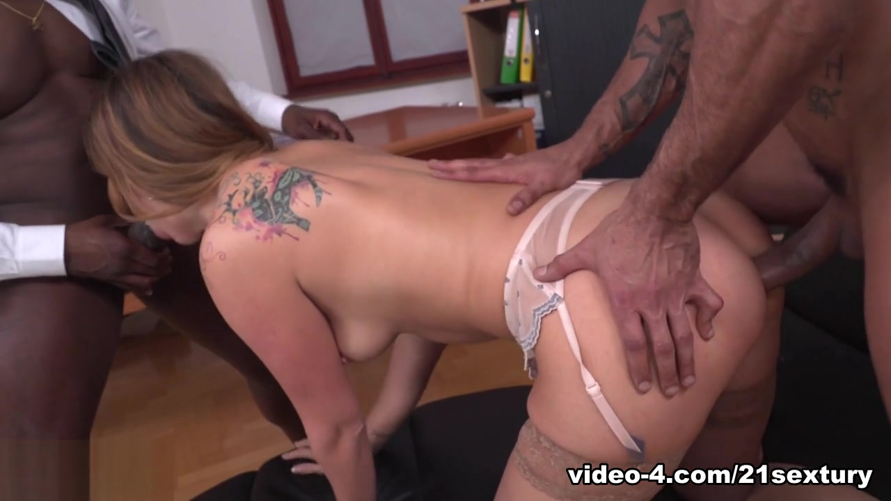 Ani Black Fox & Joss Lescaf in My Bosses DP'd Me At Work - 21Sextury