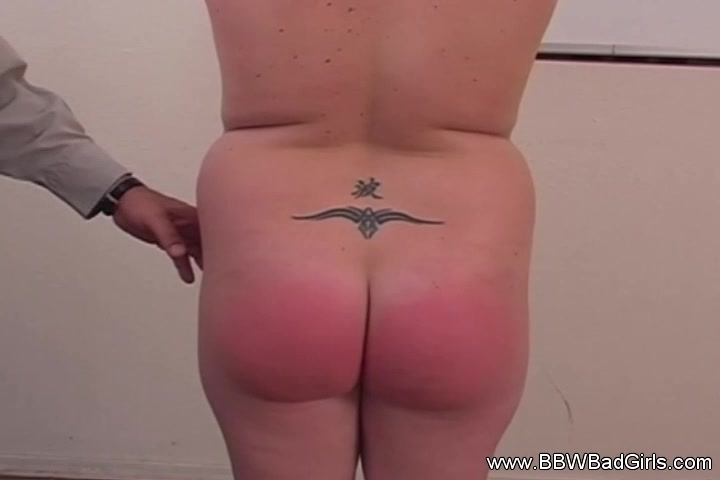 BBW MILF Is A Bad Girl Gets Spanked